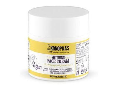 Dr. Konopka prírodný zmäkčujúci krém na tvár pre citlivú pleť - Angelika 50ml