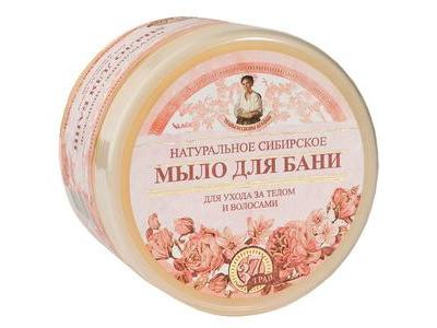 Agafi prírodné kvetové sibírske mydlo 500ml