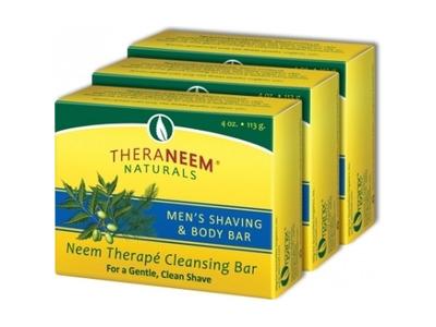 Pánske Nimbové mydlo na holenie a čistenie pleti 113g