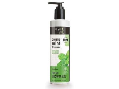 Organic Shop Sprchový gél Fresh Minty rain 280ml