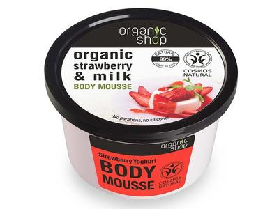Organic Shop Telová pena Strawberry Youghurt 250ml