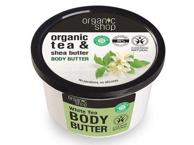Organic Shop Telové maslo White Tea 250ml