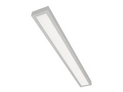 Stropné svietidlo NASLI POMPA 2x80W strieborné